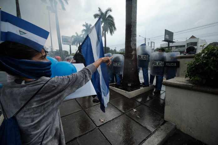Nicaragua police clash with protesters