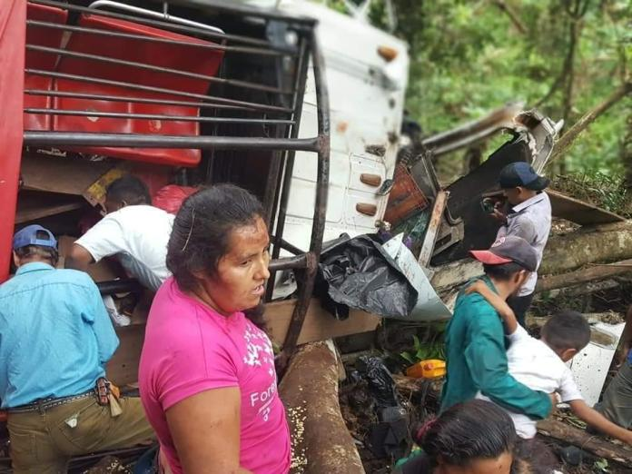 19 dead and 45 injured in traffic accident in Waslala, Matagalpa