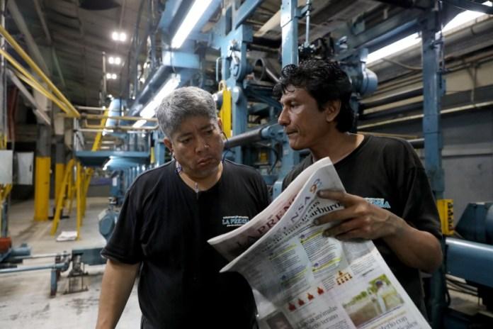 Ortega government lifts blockade against La Prensa