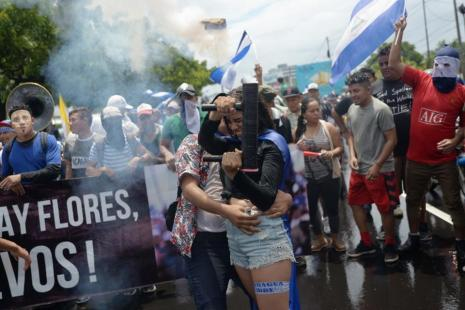 NICARAGUA-UNREST-OPPOSITION-MARCH