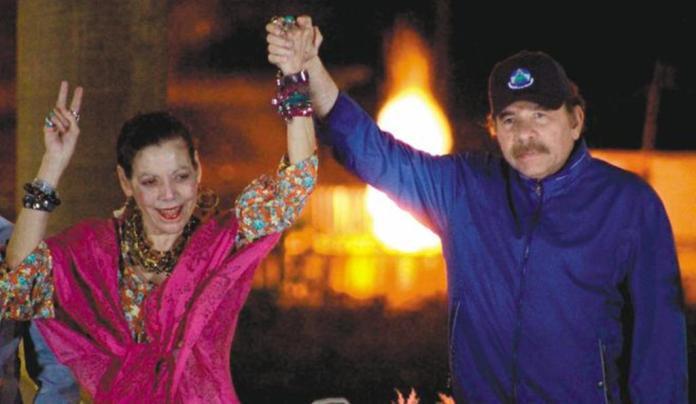 Daniel Ortega and Rosario Murillo, no expiration date