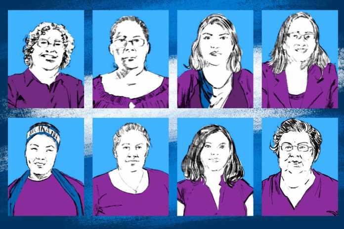 Eight Women Leaders of Nicaragua's Resistance to Dictatorship