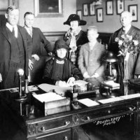 Jan 5, 1925  - Nellie Tayloe Ross Becomes First Woman Elected Governor