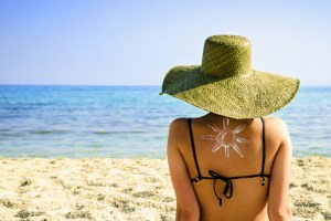 Sunscreen with Anti-aging benefits