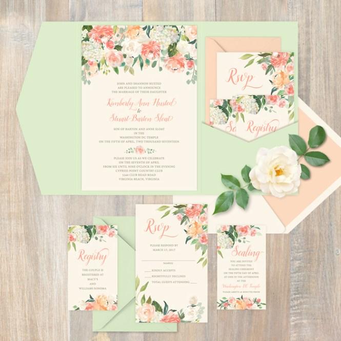 Assemble The Perfect Wedding Invitation