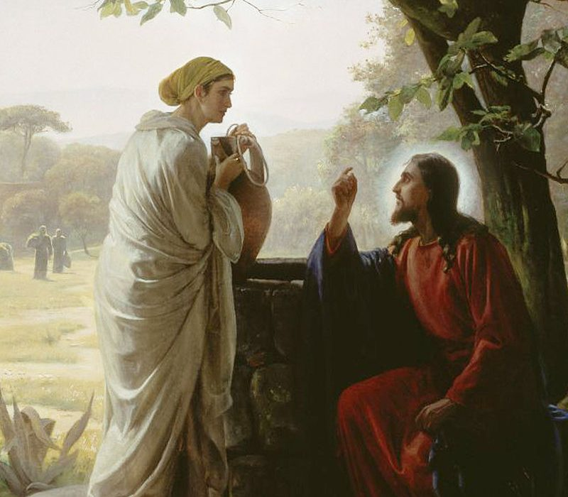 Image result for woman at the well