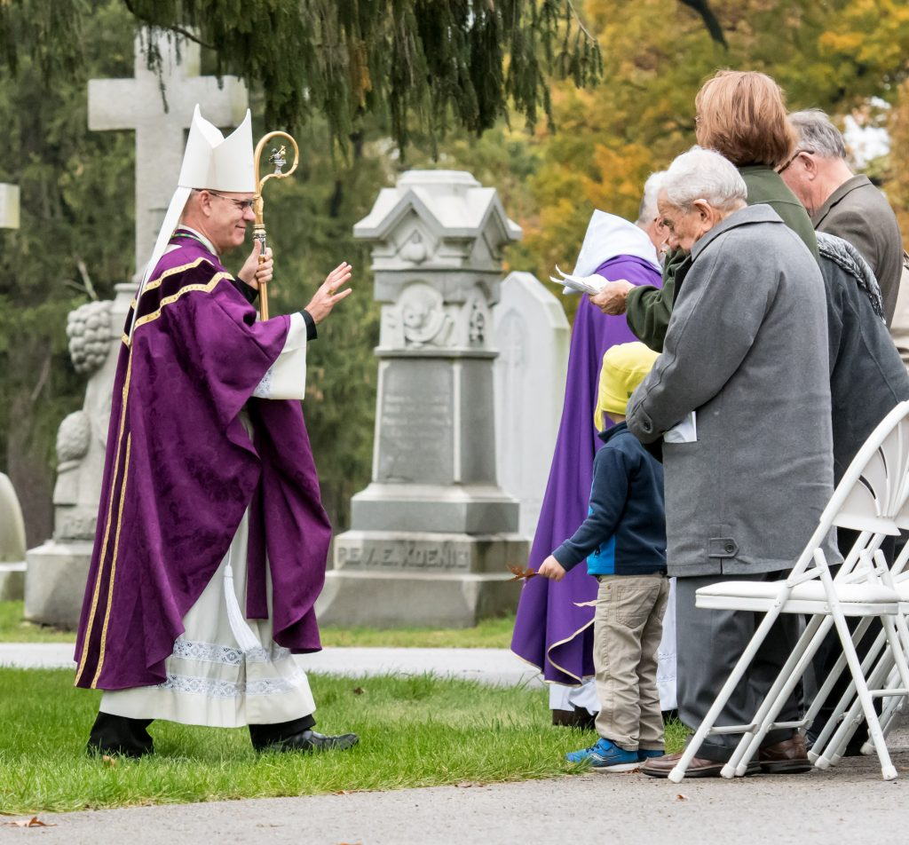 All Souls Day Mass At Catholic Cemetery A Place Of Love
