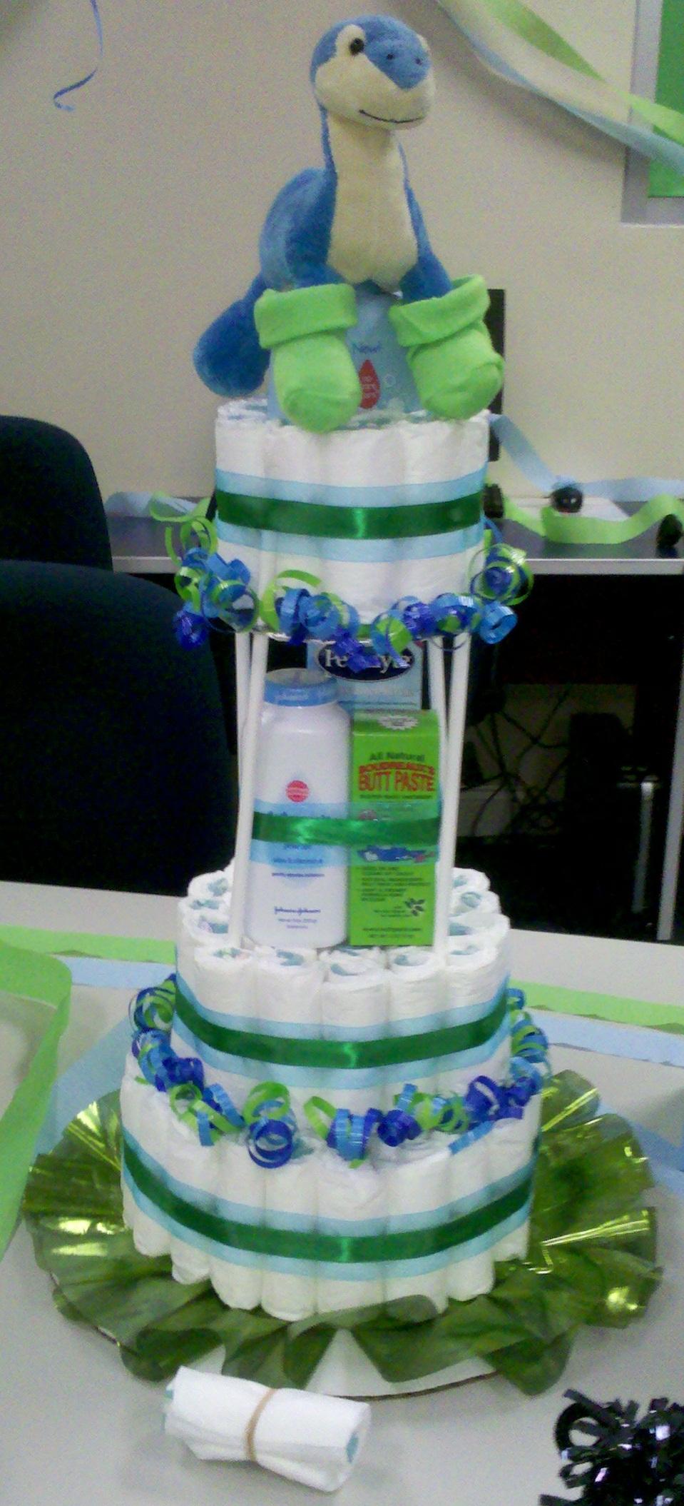 Dinosaur Diaper Cake Todayscraft