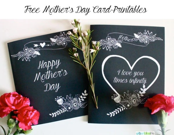 Free Printable Mother's Day Cards | Today's Creative Life