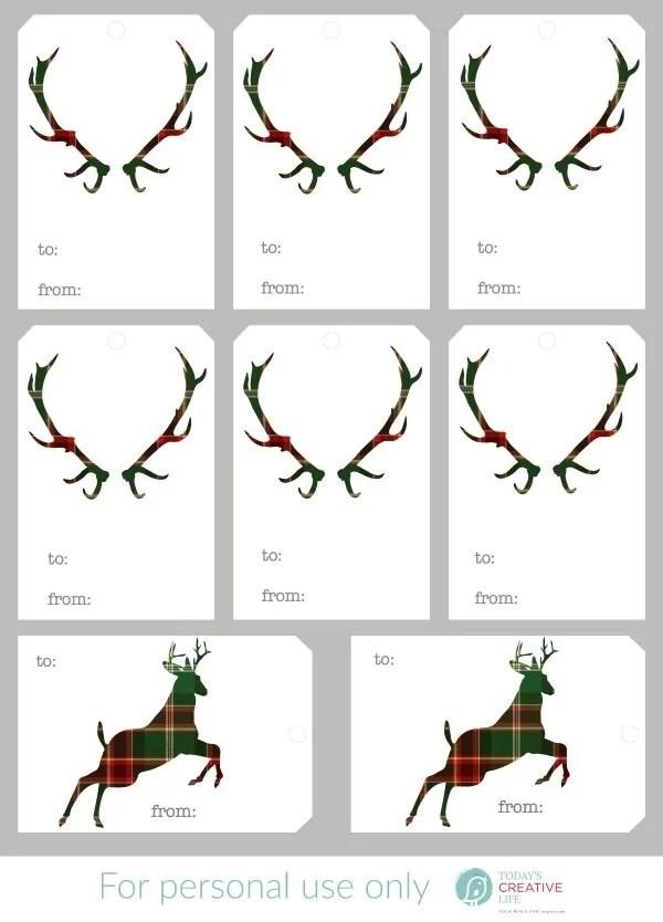Free Christmas Gift Tags Todays Creative Life