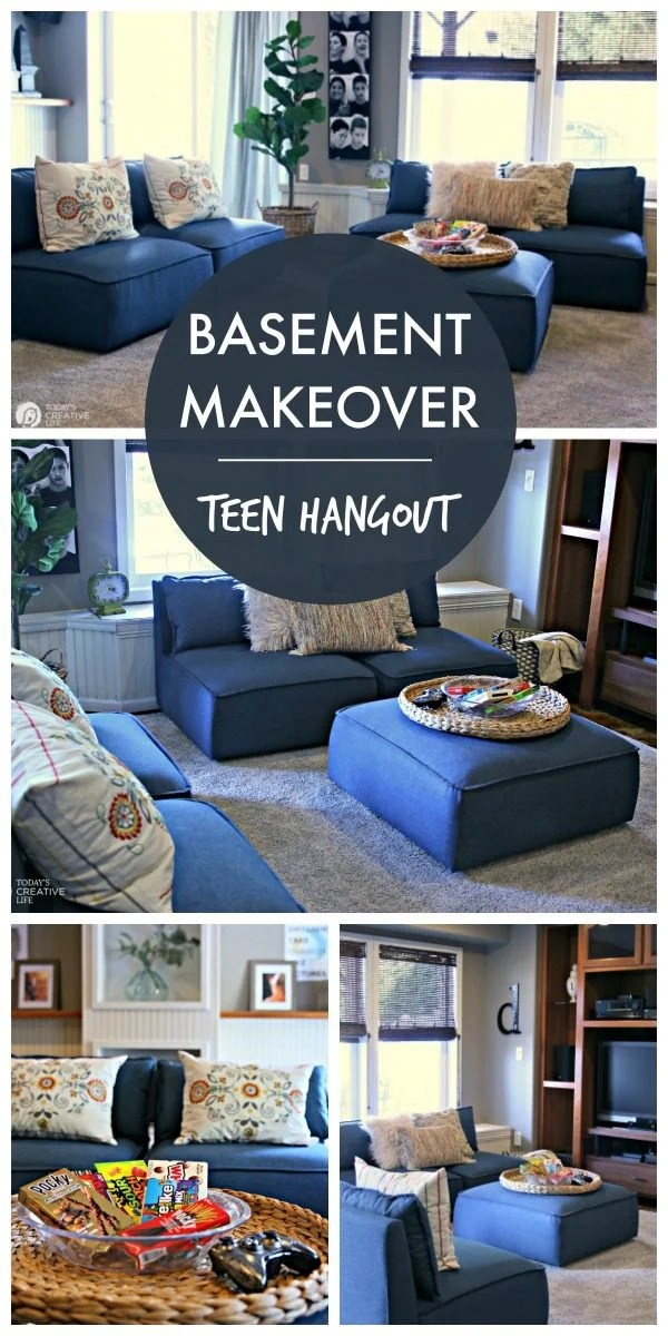 Finished Basement Decorating Ideas for Teens   Today's ... on Teenager Basement Bedroom  id=24784