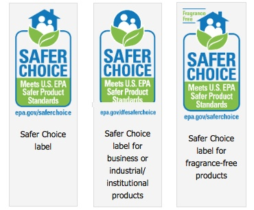 Types of Safer Choice Labels