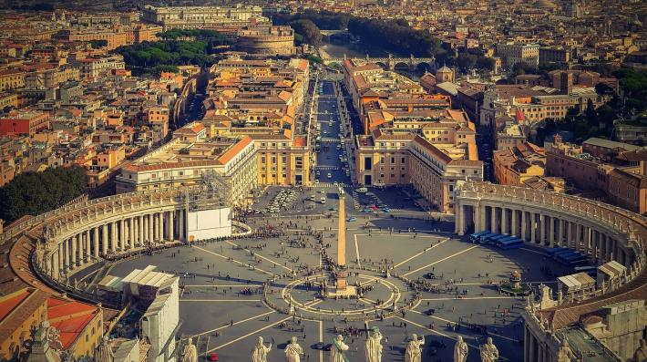 Laudato Si - Aerial Photo of Rome