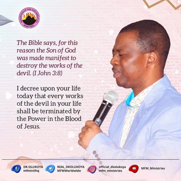 Dr Daniel Olukoya Prayer Points
