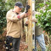 Danny Lipford plumbing fence post.