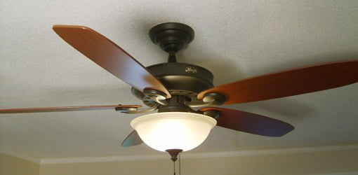 Paddle ceiling fan