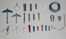 Types of wall hanging hardware