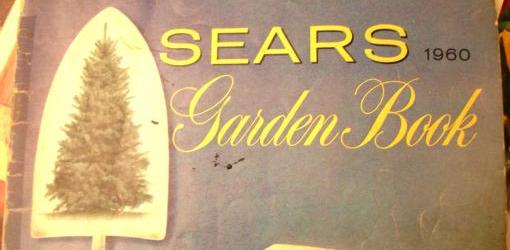 1960 Sears Garden Book mail order catalog.
