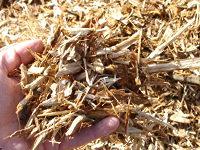 Double ground mulch