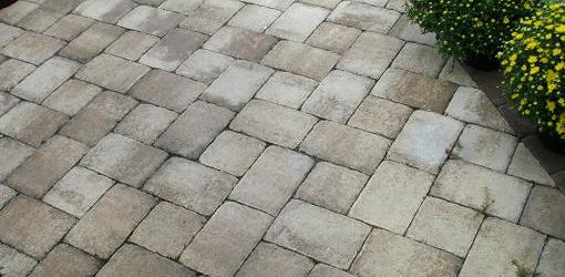 install pavers over a concrete patio
