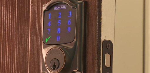 Keyless Entry Touchscreen Deadbolt from Schlage.