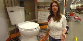 Delta Corrente Toilet with SmartFit Connections