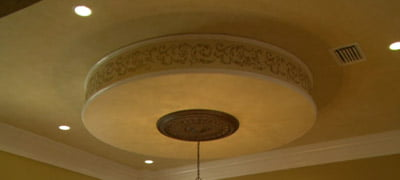 Circular Dropped Ceiling