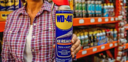 WD-40 EZ Reach with Straw