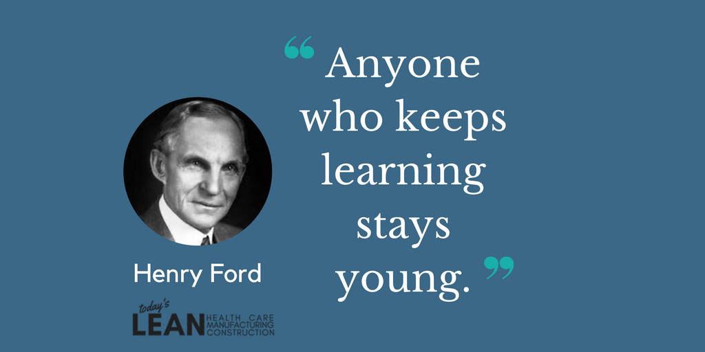 Henry Ford Staying Young