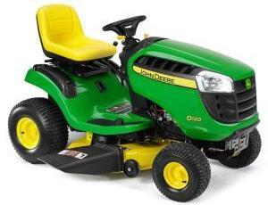 2011 John Deere 42 in 17.5 HP Riding Mower Model D100 Review 14