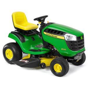 2011 John Deere 42 in 17.5 HP Riding Mower Model D100 Review 1