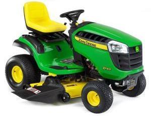 2011 John Deere 48 in 22 HP Riding Mower Model D140 Review 3