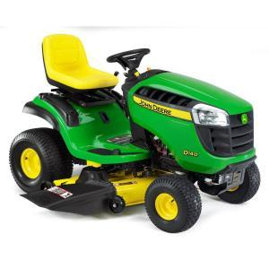 2011 John Deere 48 in 22 HP Riding Mower Model D140 Review 1
