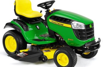 2014 John Deere 48 in Model D160 24 hp Riding Mower Review 12