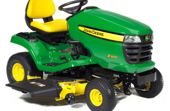 2012 John Deere X300/42X 42in, 18.5hp, Hydro Review 4