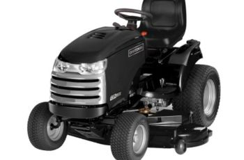 Craftsman CTX9500 54 in 30 hp Premium Model 25007 Garden Tractor Review 8