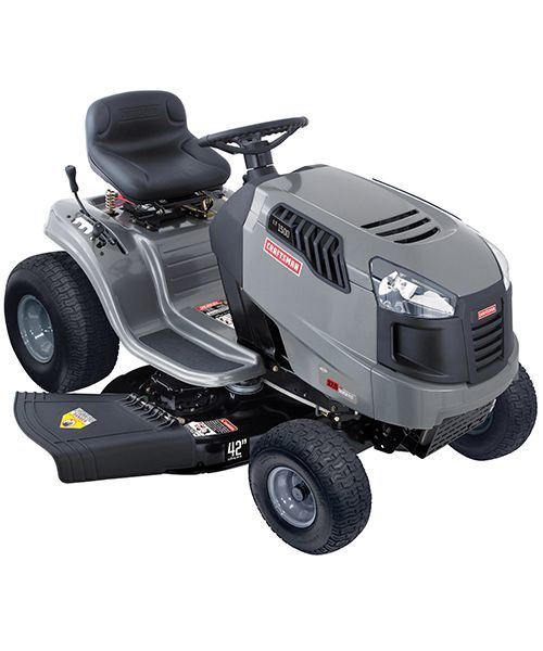 2012 Craftsman 42 In 17 5 Hp Shift On The Go Lawn Tractor
