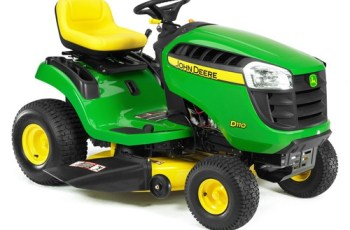 2012 John Deere 42 in 19.5 HP Hydro Model D110 Review 10