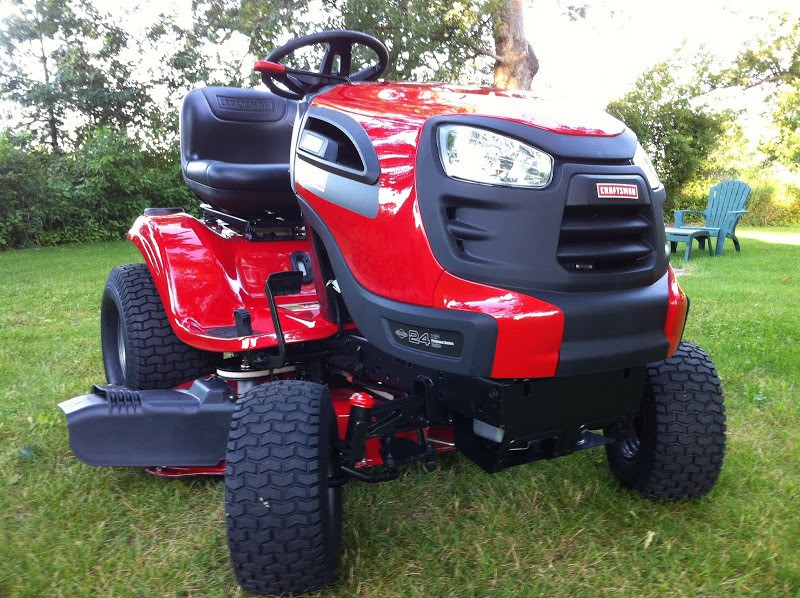 Craftsman 2 Riding Mower : Who makes sears craftsman tractors and mowers
