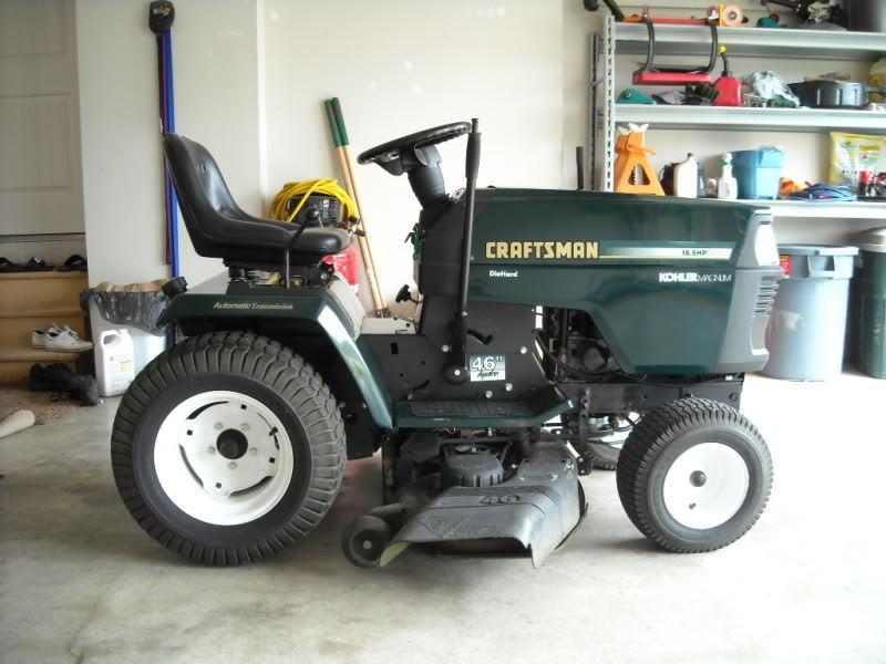 2010 Sears Craftsman Garden Tractors : History of craftsman tractors