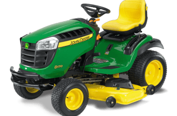 2014 John Deere 54 inch Model D170 Lawn Tractor Review – Is this mower for you? 11