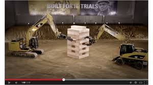 Just For Fun - Caterpillar'sv® giant Jenga goes viral 5