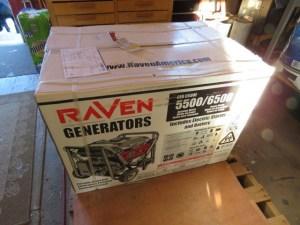 Raven GEN6500E Boxed