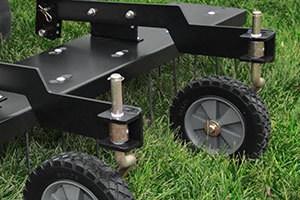 Dual Castor Wheels