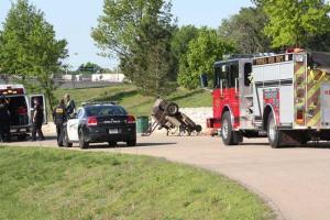 Man severely hurt in mower accident at park   CJOnline.com