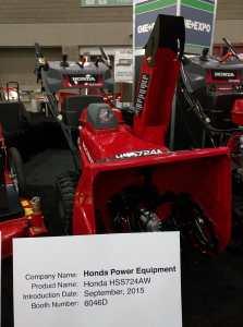 Honda HSS snow blower