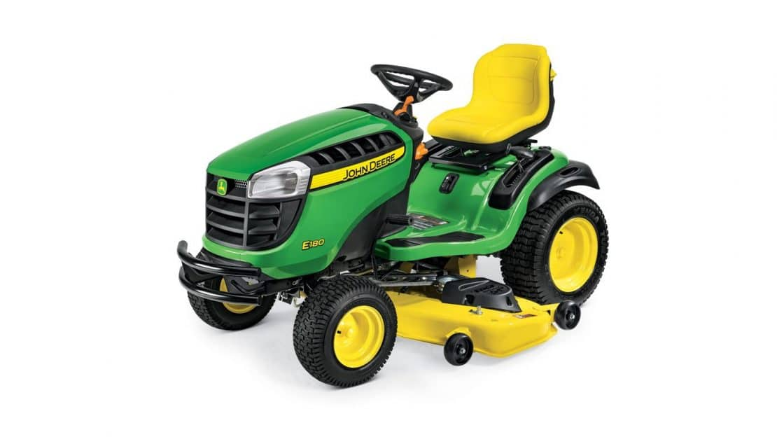 Which New 2018-2019 John Deere E100 Series Lawn Tractor Is