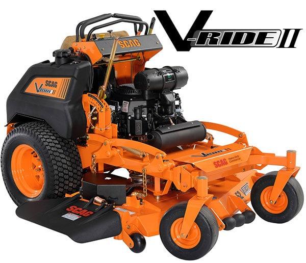 Scag Power Equipment:Scag V-Ride