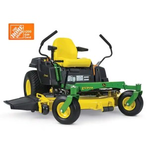 John Deere 535M zero turn mower