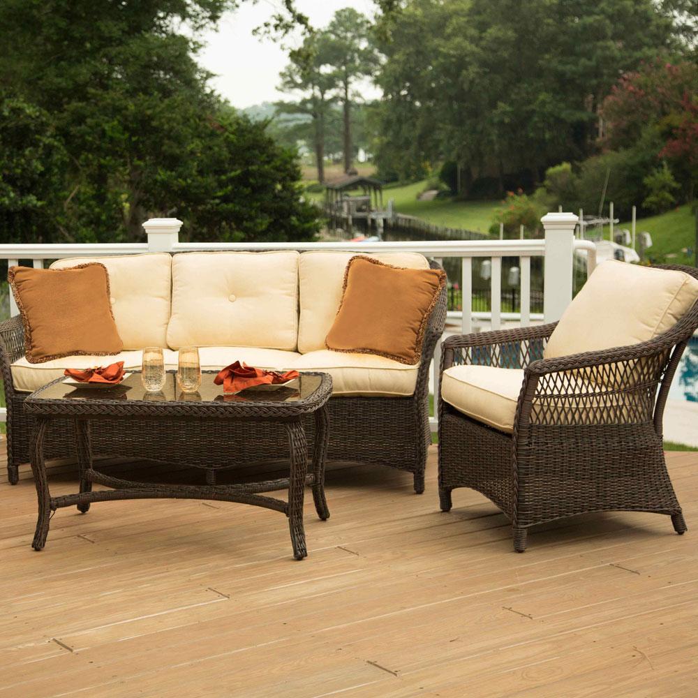 agio woven seating patio furniture today Agio Patio Furniture id=86452